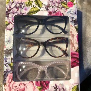 +2.00 Betsey Johnson Reading Glasses
